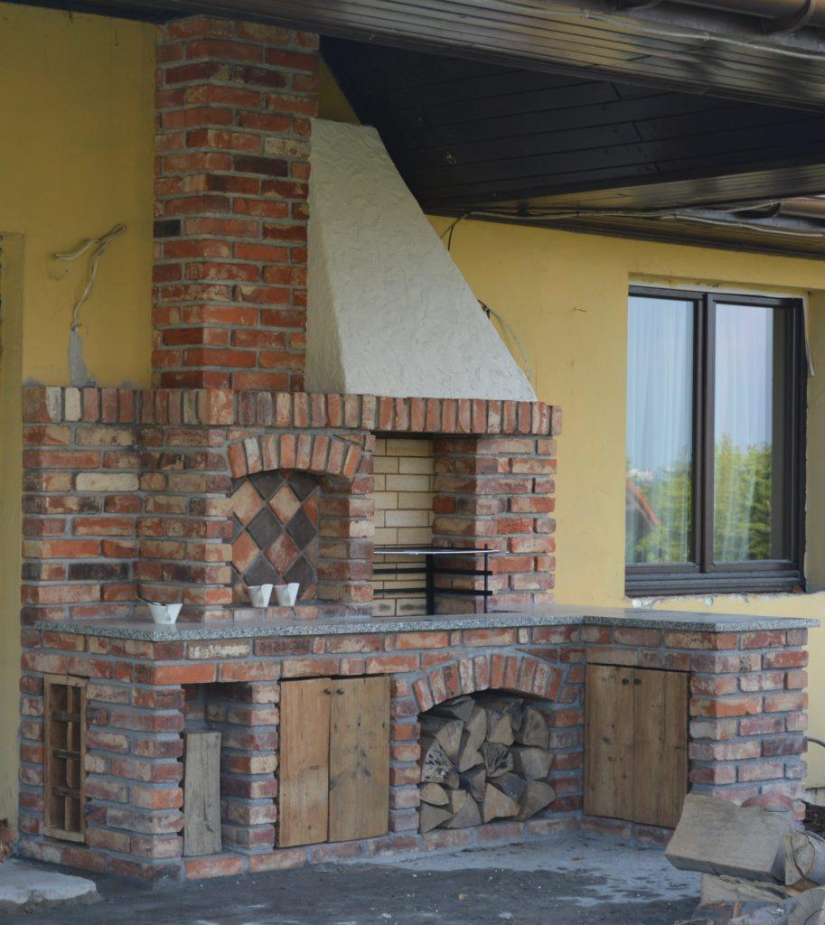 grill murowany 74