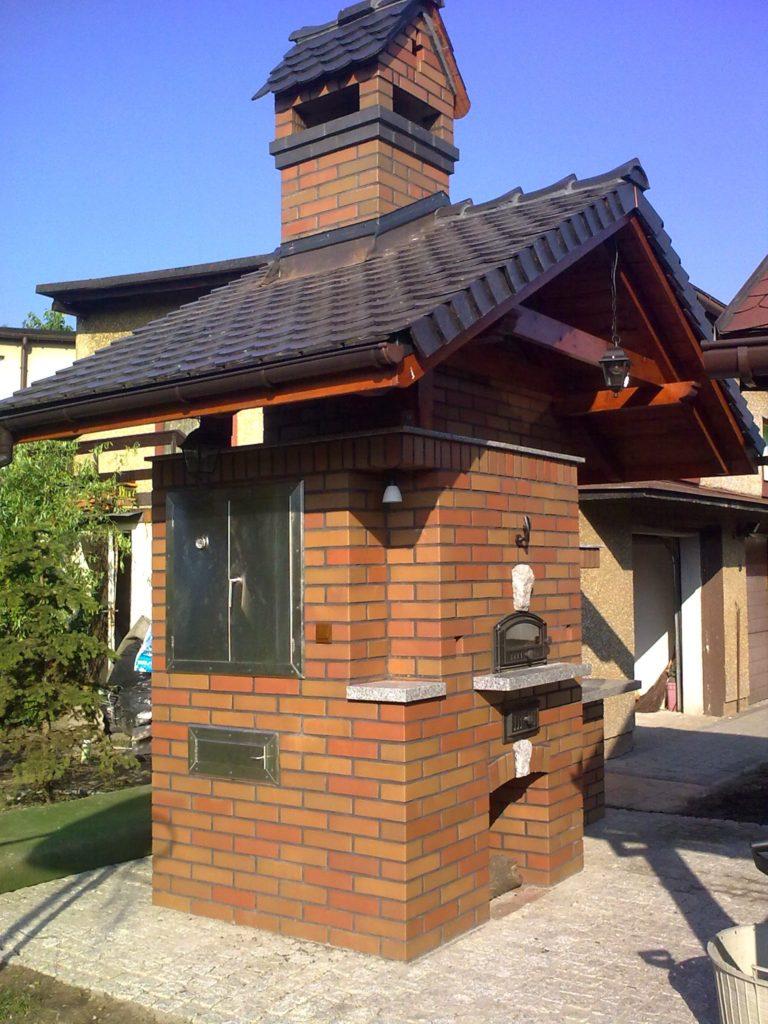 grill murowany z cegły uj5