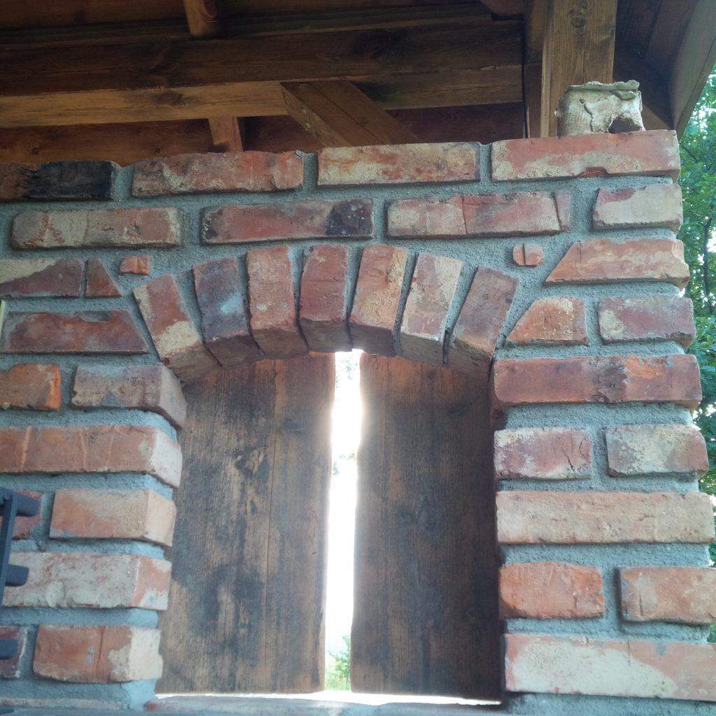 kuchnie murowane murowana kuchnia ze starej ceg�y