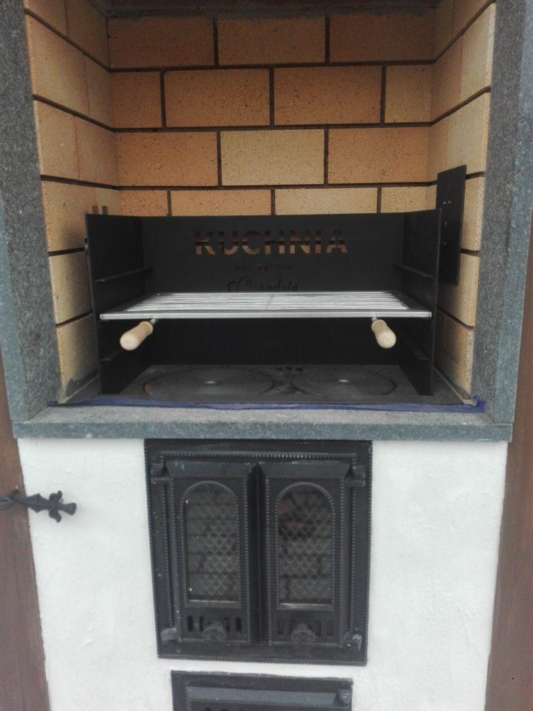 grill murowany 3532