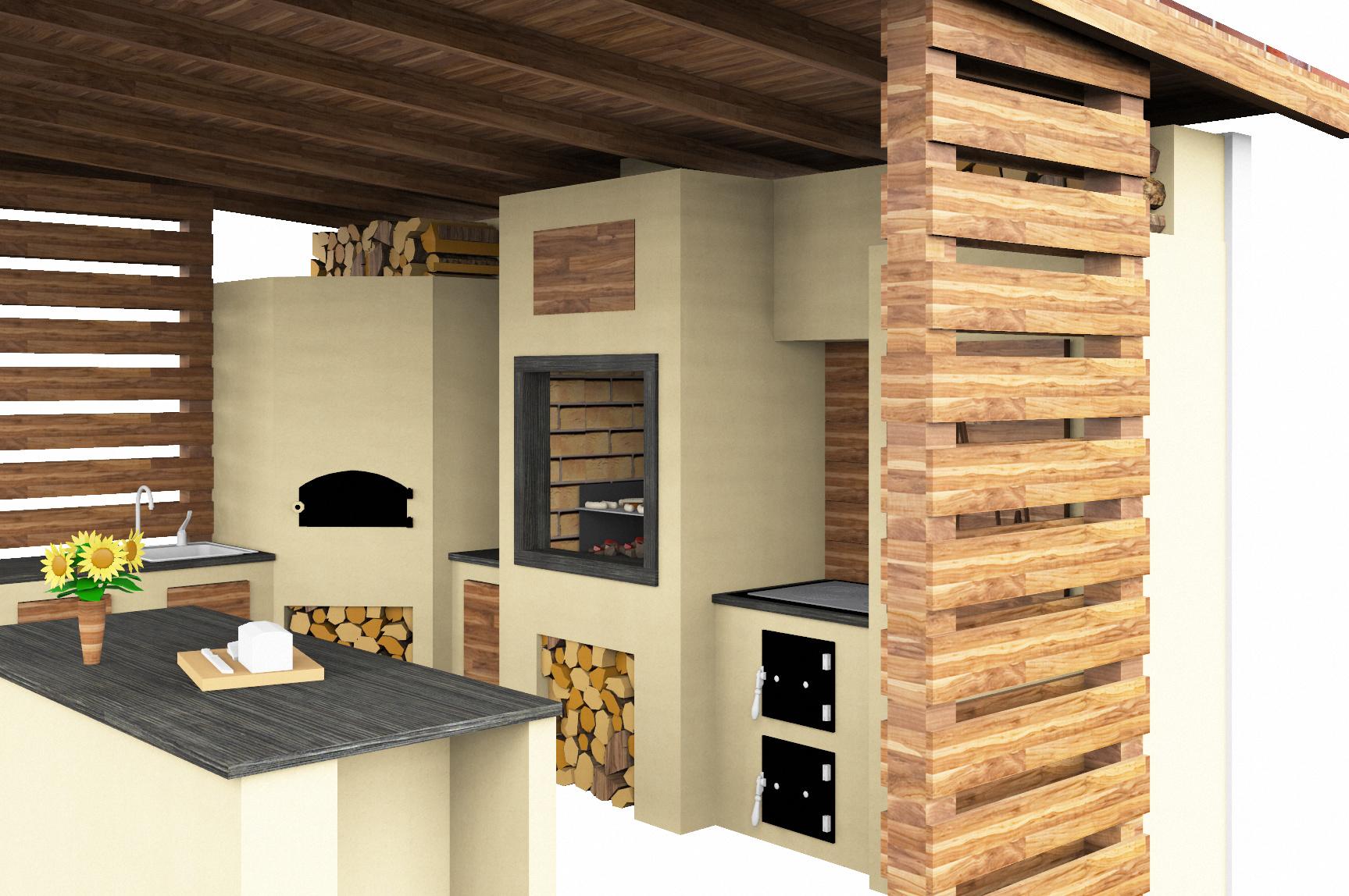 Kuchnia Letnia Projekt Kuchnia Ogrodowa Taka Jaką Chcesz
