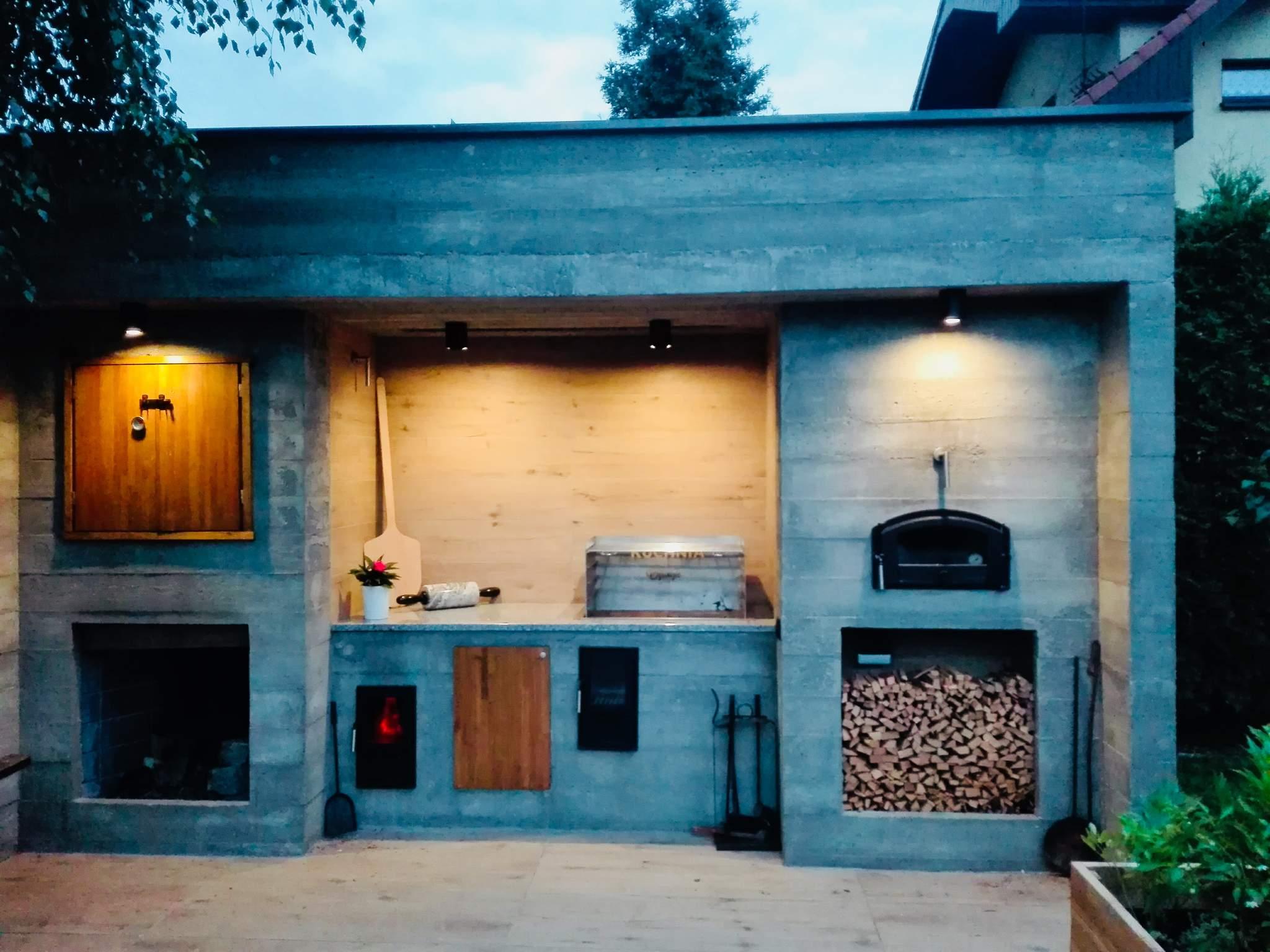 Kuchnie Z Innych Materiałów Kuchnie Letnie Ogrody Zimowe