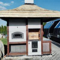 grill murowany